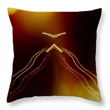 Cloaking Throw Pillow