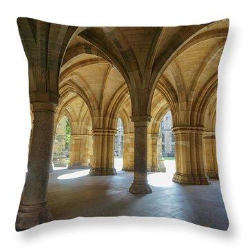 Cloister Around Throw Pillow