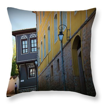 Throw Pillow featuring the photograph Close by Milena Ilieva