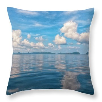 Clouded Bliss Throw Pillow