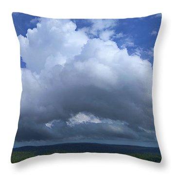 Cloudland Throw Pillow