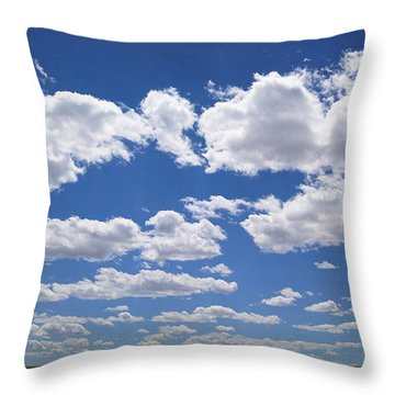 Throw Pillow featuring the photograph Clouds, Part 1 by Carl Young
