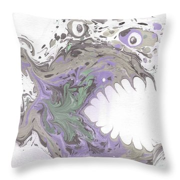 Clyde In The Morning  Throw Pillow