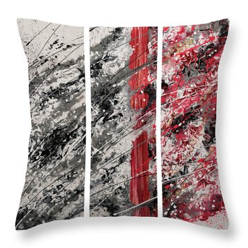 Coalescence Throw Pillow