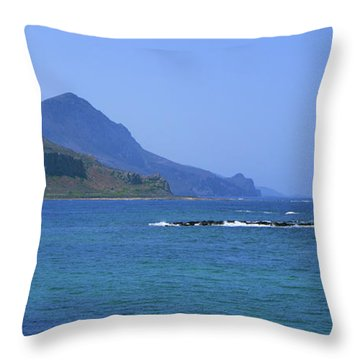 Coast Of Gramvousa Throw Pillow