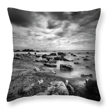 Coastal Light II Throw Pillow