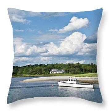 Skipjack Throw Pillows
