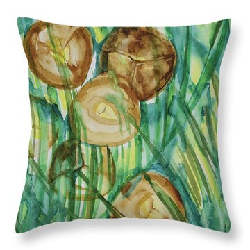 Coconut Tree Throw Pillow