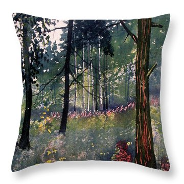 Codbeck Forest Throw Pillow