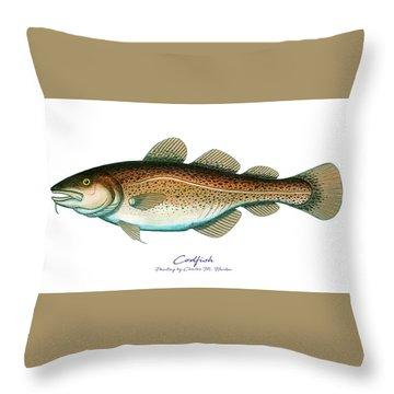 Codfish Throw Pillow