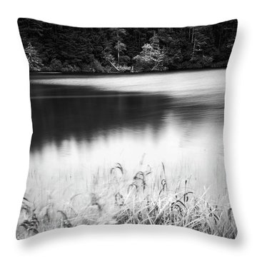 Throw Pillow featuring the photograph Coffenbury Lake by Whitney Goodey