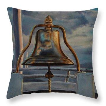 Coho Ferry's Bell Throw Pillow