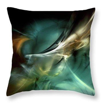 Cold Fusion Throw Pillow