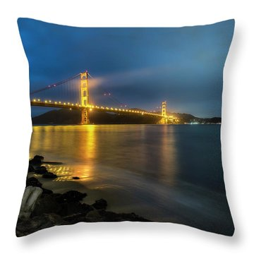 Cold Night- Throw Pillow