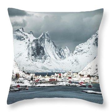 Cold World Throw Pillow
