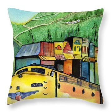 Colfax California Throw Pillow