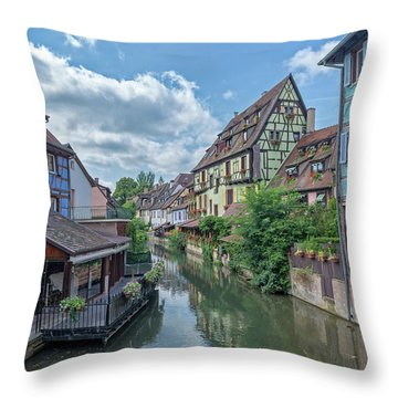 Colmar In France Throw Pillow