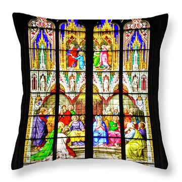 Cologne Cathedral - 2 Throw Pillow