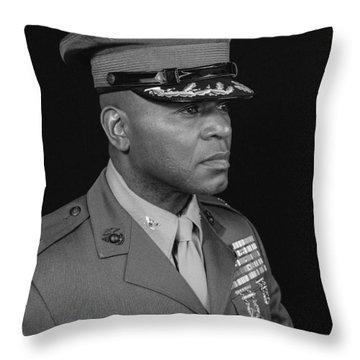 Colonel Al Trimble Throw Pillow