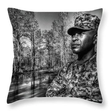colonel Trimble 2 Throw Pillow