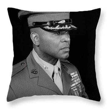 Colonel Trimble Throw Pillow