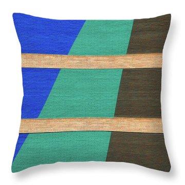 Colorado Abstract Throw Pillow