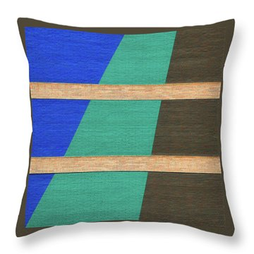 Colorado Abstract Throw Pillow