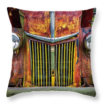 Colorful Ford Throw Pillow