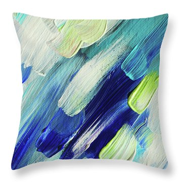 Living Healing Color Therapy - Decolores Throw Pillows