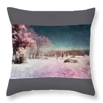 Colorful World Throw Pillow