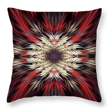Throw Pillow featuring the digital art Colossians by Missy Gainer