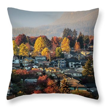 Colours Of Autumn Throw Pillow