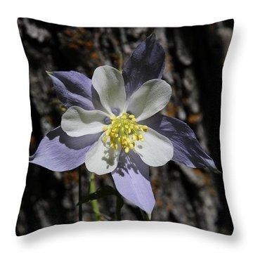 Columbine Throw Pillow