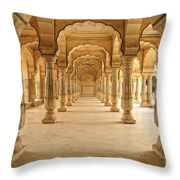Stone Carving Throw Pillows