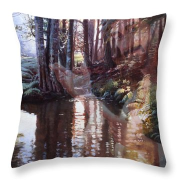 Come, Explore With Me Throw Pillow
