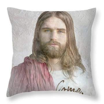 Come Follow Me Throw Pillow