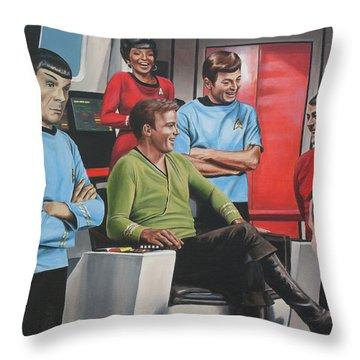 Comic Relief Throw Pillow