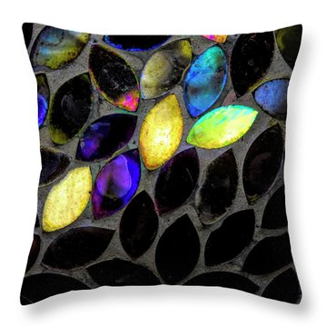 Coming Into Color Throw Pillow