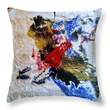 Completion Of The Miasma Throw Pillow