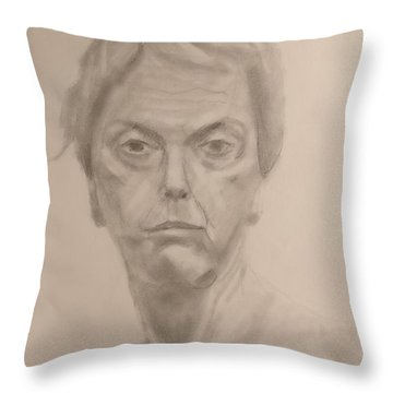 Concentrated Throw Pillow