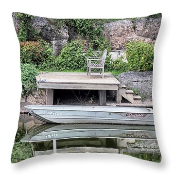 Concho Reflections Throw Pillow