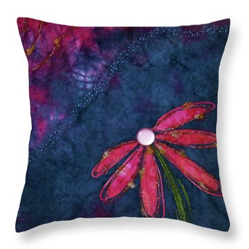 Coneflower Confection Throw Pillow
