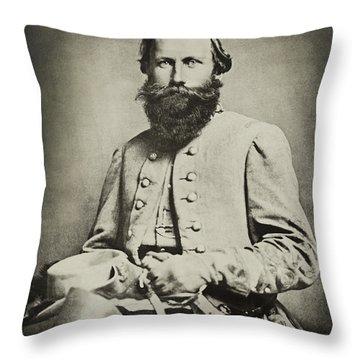 Confederate Jeb Stuart Throw Pillow