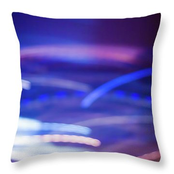 Continuance II Throw Pillow
