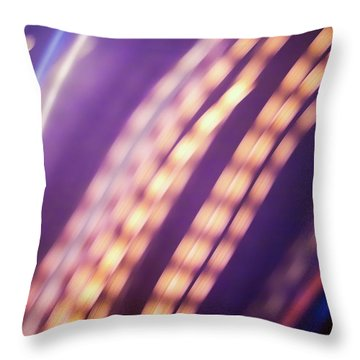 Continuance Iv Throw Pillow