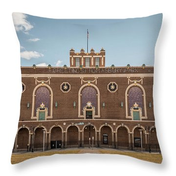Throw Pillow featuring the photograph Convention Hall by Steve Stanger