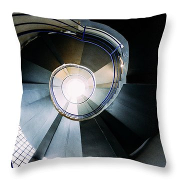 Convoluted Staircase  Throw Pillow