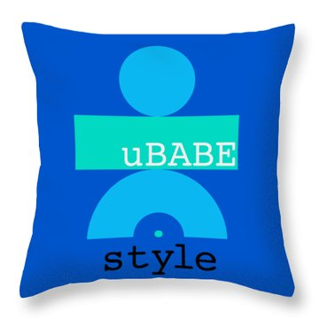 Cool Style Throw Pillow