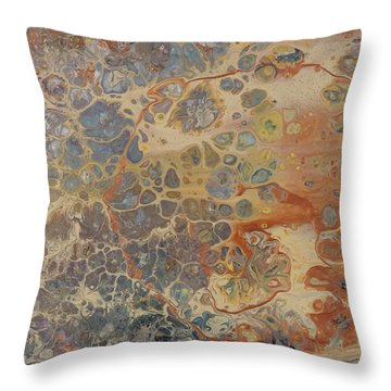 Copper Cape Throw Pillow