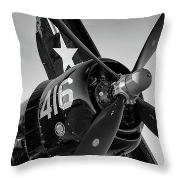 Corsair Under The Setting Sun Throw Pillow